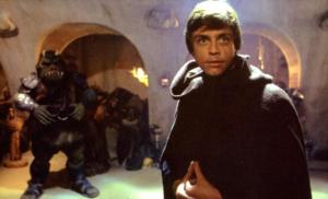 "Luke Skywalker as Jedi Knight in ""Return of the Jedi"""