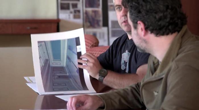 Kilian Plunkett shows off a classic Star Wars interior