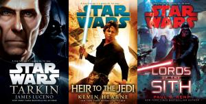 Three novels in the new Star Wars canon