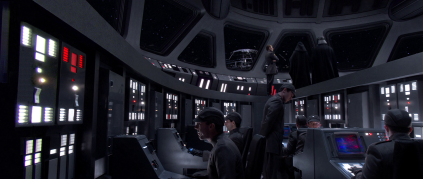 Star Destroyer-like bridge
