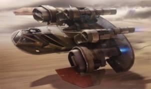 Concept Art - Pod Falcon