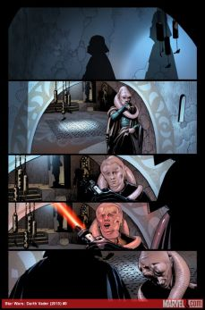 Darth Vader #1 preview, 1 of 3