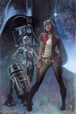 Darth Vader #3, featuring Aphra