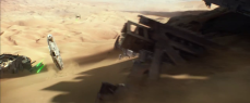 The Falcon being chased by TIEs