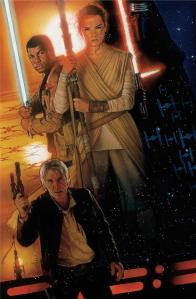 Drew Struzan's D23 promo poster for The Force Awakens
